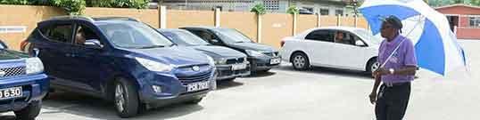 Car park ushers