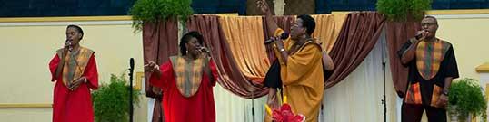 Worshiping Jesus together
