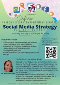 Social Media Strategy. Via Zoom